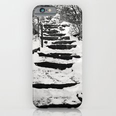 Snowy Stairs iPhone 6s Slim Case