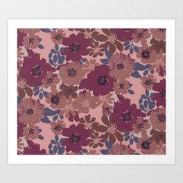 Ava Rose Art Print