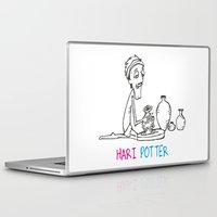 potter Laptop & iPad Skins featuring Hari Potter by tantra