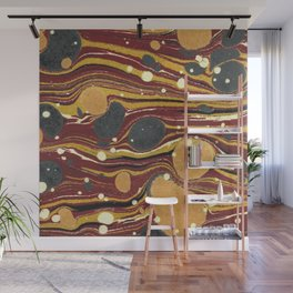 Old Marbled Paper 01 Wall Mural