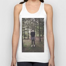 Clock Face Unisex Tank Top