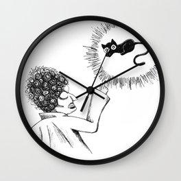 Inktober 2018: Day 4 Wall Clock