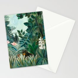 Henri Rousseau - The Equatorial Jungle Stationery Cards