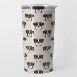 Boxer Portrait Travel Mug