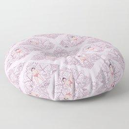 宇良 • baby sekitori (minimalist) Floor Pillow