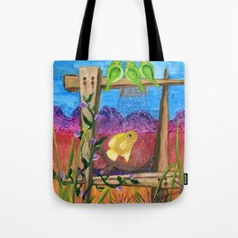 Desert Aquarium Tote Bag