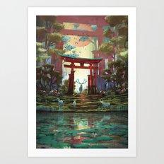 TORII - 鳥居 Art Print