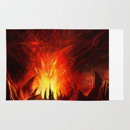 Doom: Hell Surfacing Rug