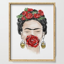 Have Courage Like Frida Serving Tray