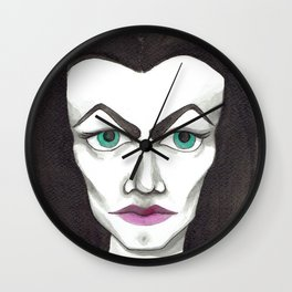 Vampira Wall Clock