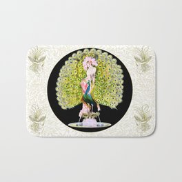 Art Deco Diva Rivalry Bath Mat