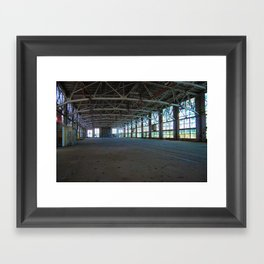 Albuquerque Rail Yards Framed Art Print