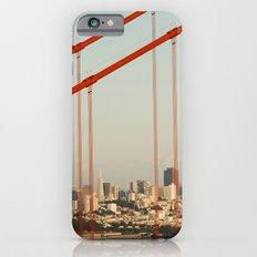 Golden San Gate Francisco Bridge Slim Case iPhone 6s