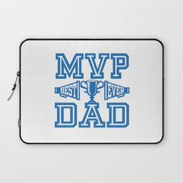 MVP Dad Best Ever Gift Ideas for Father Laptop Sleeve