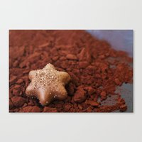 chocolate Canvas Prints featuring Chocolate by LebensART Photography