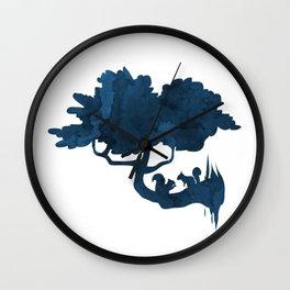 Squirrels Wall Clock