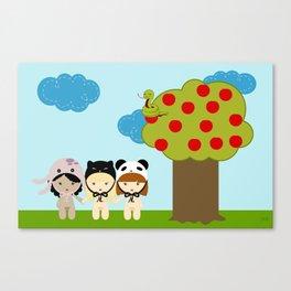 kawaii garden Canvas Print