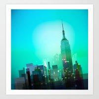 New york picture Art Print