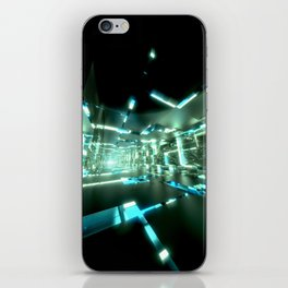 Emerald Tunnels no2 iPhone Skin