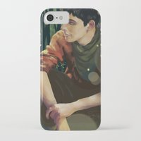merlin iPhone & iPod Cases featuring Merlin by PrintsofErebor