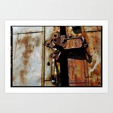 Rust and Rubble Art Print