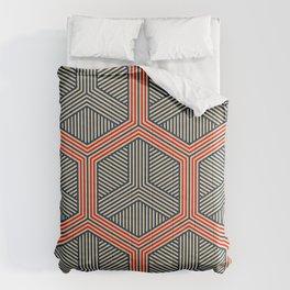 Hexagon No. 1 Comforters