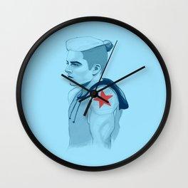 MCU - Punk Soldier Wall Clock