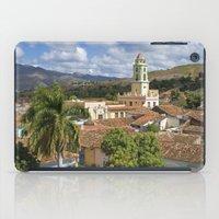 cuba iPad Cases featuring Trinidad, Cuba by Parrish