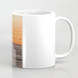 Orange Summersunset Feeling - Warnemuende - Baltic Sea Coffee Mug