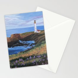 Yaquina Head Lighthouse Stationery Cards