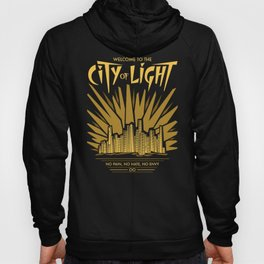 Welcome to the City of Light Hoody