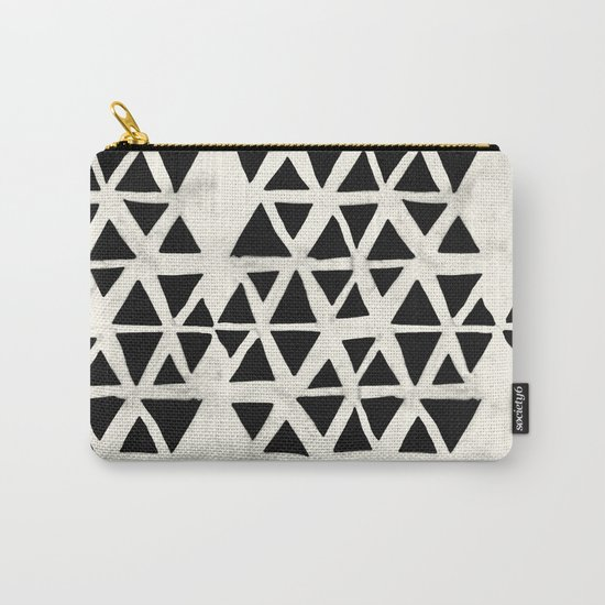 Tribal Geometric Carry-All Pouch