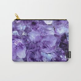 Amethyst Crystals Carry-All Pouch
