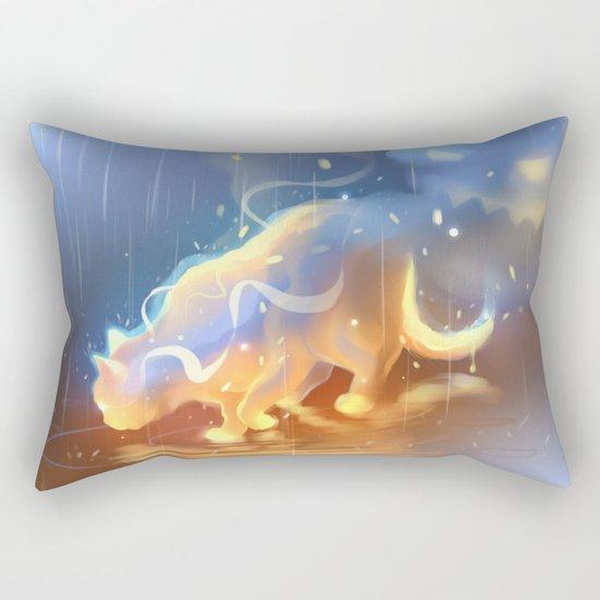 Flame Bound Rectangular Pillow