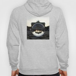 Brandenburg Gate, Berlin Germany / Glass Ball Photography Hoody