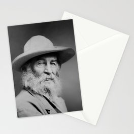 Walt Whitman Portrait Stationery Cards