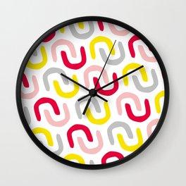 Wiggle 01 Wall Clock