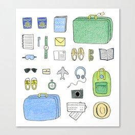 Happy Travels Canvas Print