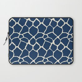 Giraffe Pattern Animal Print (navy) Laptop Sleeve