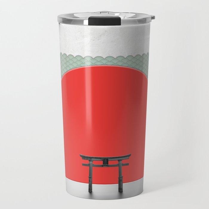 The Red Sun Travel Mug