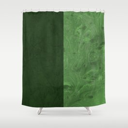 Green Vibes Shower Curtain