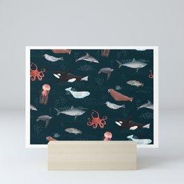 Ocean Life Mini Art Print