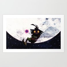 Zelda Majora's Mask : The Skull Kid Art Print