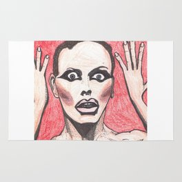 """Alyssa Edwards; """"She was the one backstabbing me behind my back!"""" Rug"""