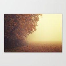 I was on my way dreaming Canvas Print