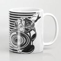 megaman Mugs featuring Megaman Geek Line Artly by Barrett Biggers