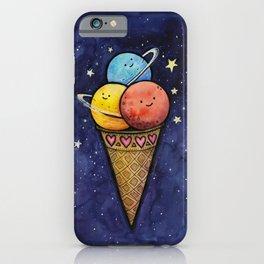 Space Ice Cream Cone iPhone Case
