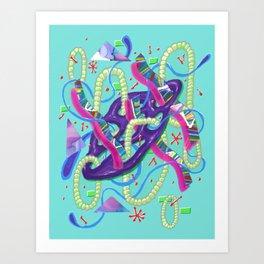 Alien Organism 23 Art Print