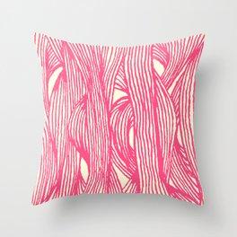 Inklines III Throw Pillow