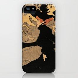 Poster - 'Divan Japonais' by Toulouse Lautrec iPhone Case